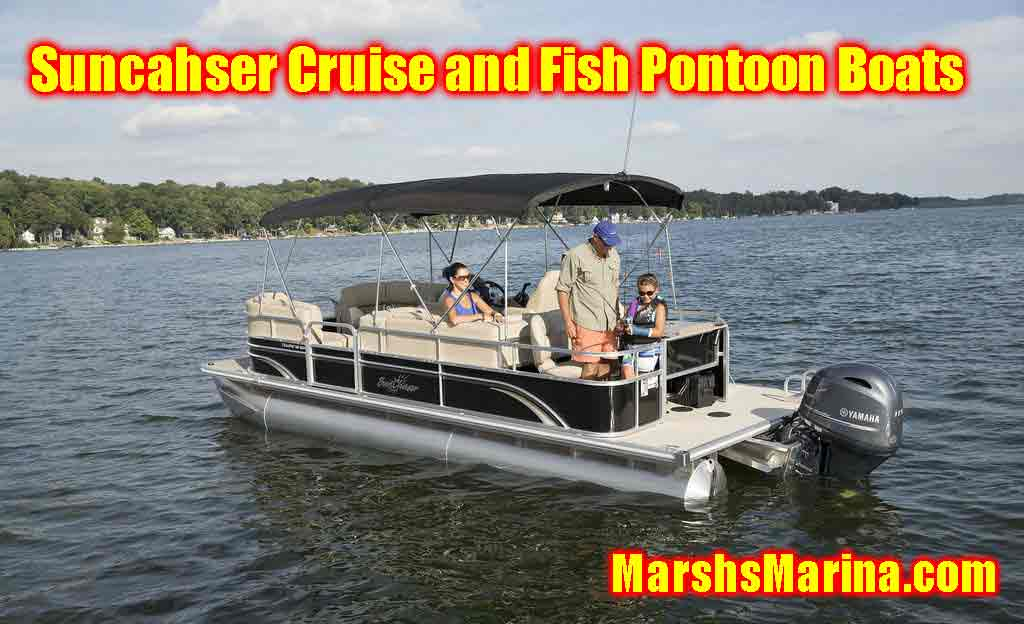 Sunchaser Cruise and Fish Pontoon Boats