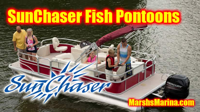 Sunchaser Fish Pontoon Boats